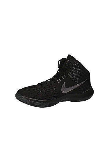 Nike Mens Luftprecisions Basket Sko Svart / Grå-m
