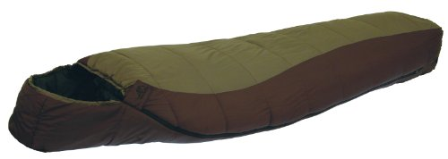 ALPS Mountaineering Clay/Brown Desert Pine 0 Degree Mummy Sleeping Bag (Regular), Outdoor Stuffs