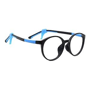 TIJN Kids Child Round Safety Flex Lightwegiht Optical Eyewear