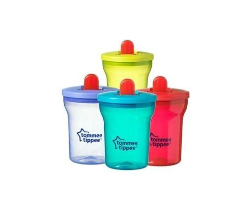 Erste Becher Tommee Tippee Alter 4 m + 200 ml BPA-frei (tü rkis)