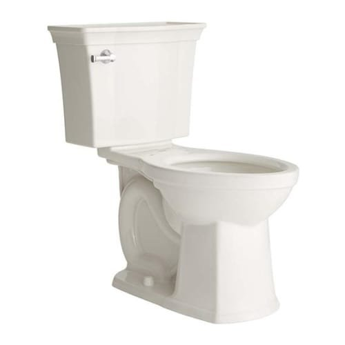 American Standard 3070A.101 Estate Elongated Toilet Bowl Only with VorMax Flushi, White