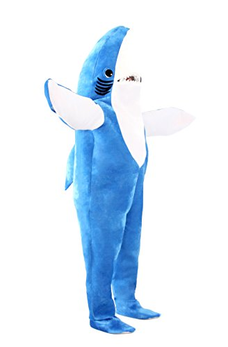 Katy Perry Left Shark Adult Plus Costume (XX-Large) by Costume Agent (Image #1)