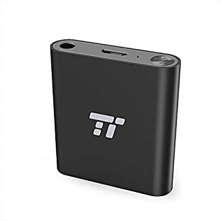 TaoTronics 65ft Bluetooth Transmitter Long Range 3.5mm & RCA Wireless Audio Adapter for TV (aptX Low Latency, Bluetooth 4.2, Pair 2 Stereos Headphones at Once)