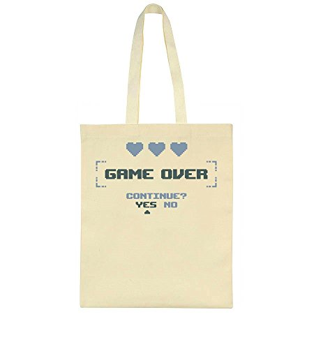 Bag Tote Bag Game Over Continue Tote Over Continue Game Game Tote Continue Bag Over AqYwEO