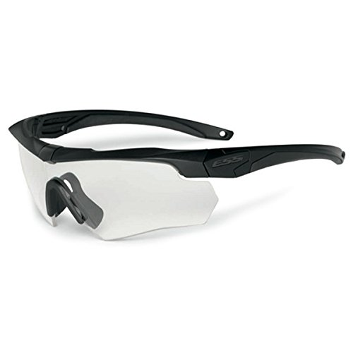 Ess Clear Safety Glasses, Scratch-Resistant, Wraparound