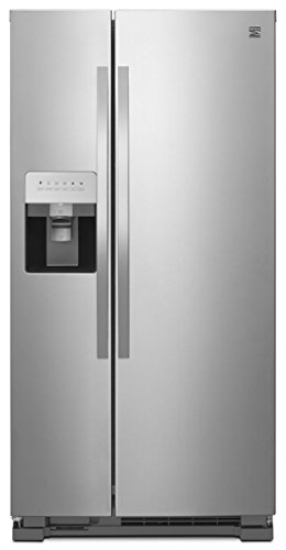 Kenmore 51753 21.4 ct. ft. Side-by-Side Refrigerator in Stainless Steel, includes delivery and hookup