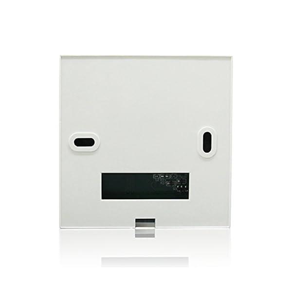 Beok Termostato a Batteria per Caldaia a Gas Programmabile Ambiente Termostato de Parete con Digitale LCD Touchscreen… 2 spesavip
