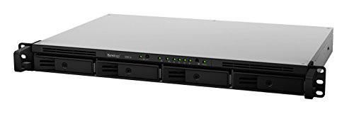 SYNOLOGY RS816 4-Bay NAS-Rackmount 1,8 GHz DualCore CPU 1GB DDR3 2x USB3.0 1x eSATA 2 x RJ45