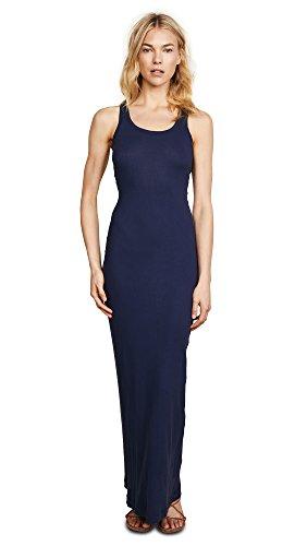 - Splendid Women's Ribbed Maxi Dress, Navy, Blue, X-Small