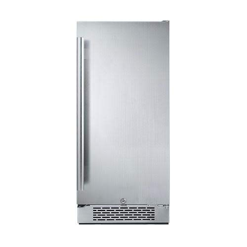"Avallon AFR151SSRH 3.3 Cu Ft 15"" Built-in Refrigerator - Right Hinge"