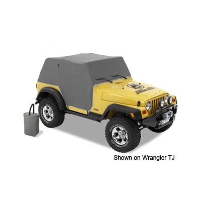 Bestop 8103809 Charcoal All Weather Trail Cover: Automotive
