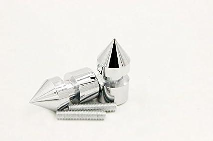 Black Spike Swingarm Spools No logo 8mm Thread For Compatible with Suzuki GSXR 1000 2001-2012// GSXR 1100 1992-1998// GSXR 600 1992-2012// GSXR 750 1992-2011 NBX