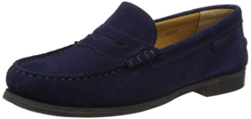 Suede Blue Women's Plaza Navy Color Women's Shoes Ii Sebago Suede In Leather TF814
