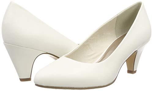 108 21 white Tamaris Blanc 22416 Escarpins Femme Matt HWOUa04