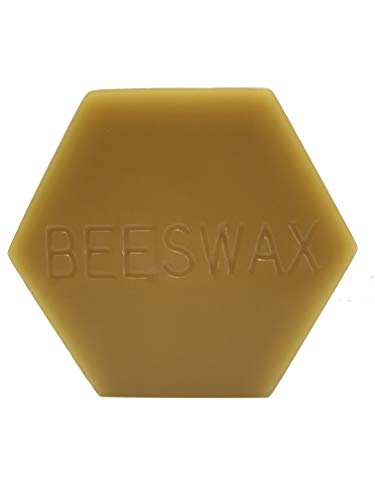 (Gentle Bees Pure Beeswax 2 Ounces (Bowstring Wax, Candle Wax, Craft Wax, and DIY Wax) )