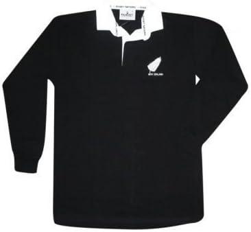 New Zealand Polo de rugby de l'équipe des All Blacks Pour homme