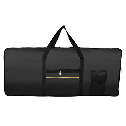 Andoer Portable 61-Key Keyboard Electric Piano Padded Case G