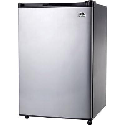 Igloo 3.2 cu ft Refrigerator, Platinum