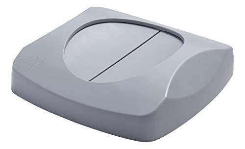 Rubbermaid Commercial Products Untouchable Trash/Recycling Swing Lid, Gray (FG268988GRAY)