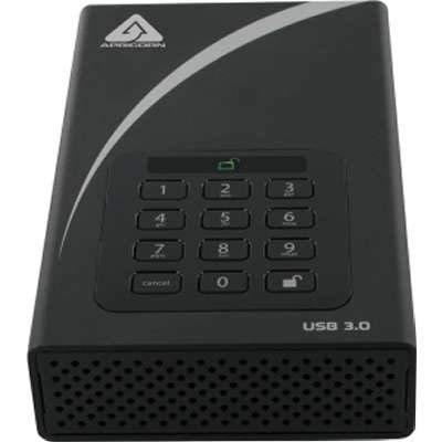Hardware Bit Aes 256 - Apricorn ADT-3PL256-4000 4TB Aegis Padlock DT Secure USB 3.0 256-Bit AES Hardware Desktop Drive