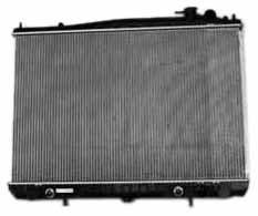 TYC 2409 Nissan 2-Row Plastic Aluminum Replacement Radiator (Two Row Radiator compare prices)