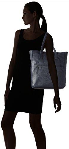 Ecco SP, Shopper Donna, Blu (Blau (90579), 34 x 35 x 10 cm (B x H x T)