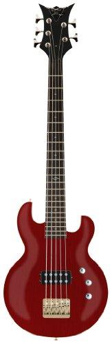DBZ / Diamond Guitars IM5ST-TCH Imperial 5-String Bass Guitar, Trans Cherry 5 String Bass Cherry