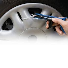 Image Unavailable. Image not available for. Colour: Antitheft 8 Gun for Hubcaps