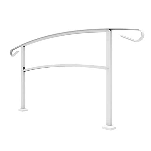 Railing Now - Canyon Transitional Handrail (White)