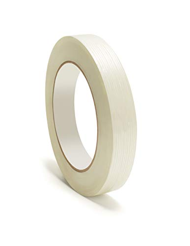- Heavy Duty Packing Tape, Filament Reinforced Tape Rolls, 4.8 Mil Thick, Clear, 3/4 Inch x 60 Yards, 24 Pack