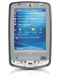 "HP iPAQ Pocket PC hx2490b - Handheld - Windows Mobile 5.0 Premium Edition - 3.5"" color TFT ( 240 x 320 ) - Bluetooth, Wi-Fi"