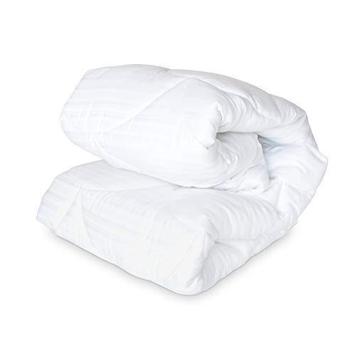 DOWNLITE Luxury 600 TC Extra Plush Primaloft Down Alternative Mattress Pad - Hypoallergenic Bed Pad (Queen) ()