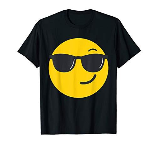 Emoji Face - Sunglasses Face costume ()