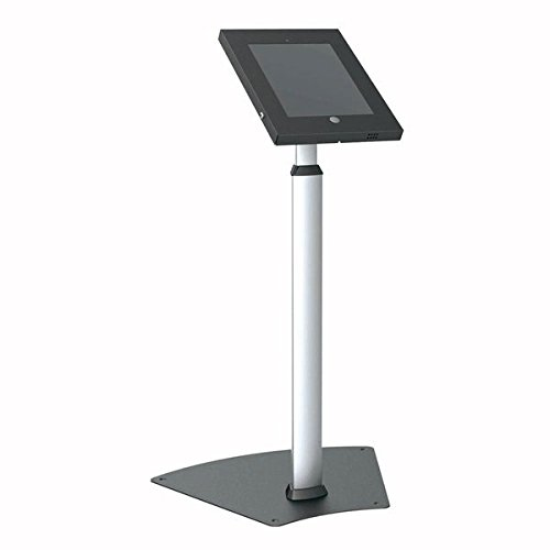 Pyle PSPADLK55 Tamper-Proof Anti-Theft iPad Kiosk Safe Security Public Floor Stand, Holder, Public...