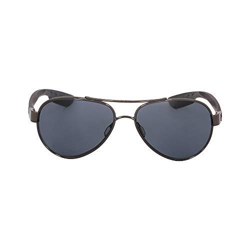 Costa Loreto Metal Frame Gray Plastic Lens Unisex Sunglasses LR22OGP