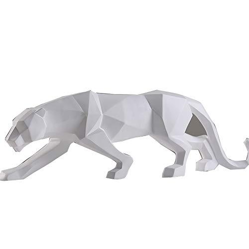 DWhui Nórdico Minimalista geométrico Origami Animales Leopardo Ornamentos Moderno Mueble TV chuchería Creativo...