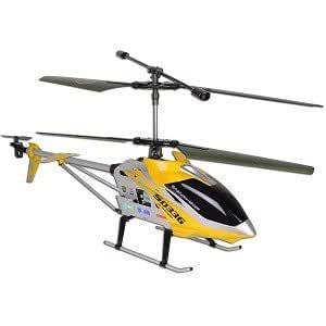 Syma S033G 3.5 Channel 700mm Large RC Helicopter Ready to Fly. Colors May Vary in Yellow or Red.