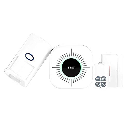 SODIAL 43Hz Wireless WIFI Home Burglar curity Alarm System 25KG Pet Immune PIR Motion nsor Detector Kit Smart Phone App Control by SODIAL