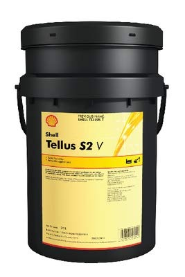 SHELL TELLUS S2 V 15 INDUSTRIAL HYDRAULIC FLUID FOR WIDE TEMPERATURE RANGE 20LTR by Shell (Image #1)