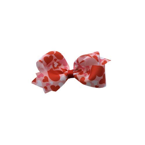 Valentine's day hearts bow