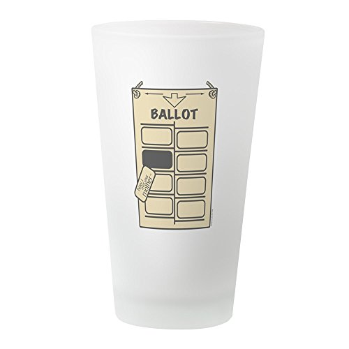 CafePress HIMYM Hanging Chad Pint Glass, 16 oz. Drinking Glass ()