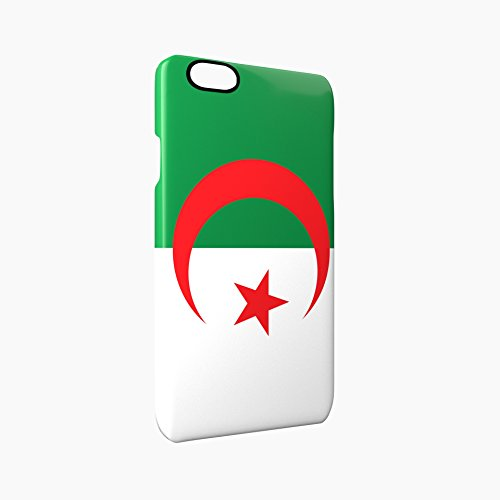 Flag of Algeria Glossy Hard Snap-On Protective iPhone 6 / 6S Case Cover