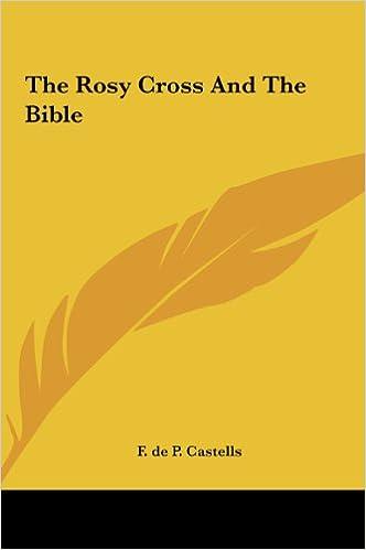 Varaa ilmainen lataus The Rosy Cross And The Bible 1161507140 PDF ePub iBook
