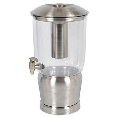 Double-walled Stainless Steel 3-gallon Beverage Dispenser by Double Walled