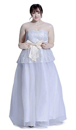 Halloween Cosplay Japan Costumes [Plus Size] Anime Big Uniforms (5X, Bride)