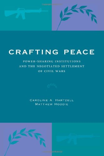 Crafting Peace: Power-Sharing Institutions and the Negotiated Settlement of Civil Wars by Brand: Penn State University Press