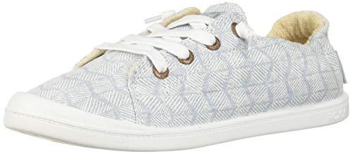 Roxy Women's Bayshore Slip on Shoe Sneaker, Denim 6.5 M US
