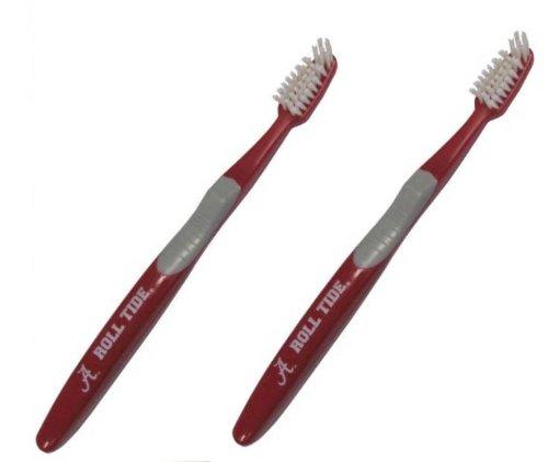 Alabama Crimson Tide - NCAA Team Toothbrush (2 Pack) ()