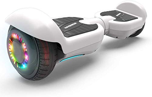 HOVERSTAR All-New HS2.0 Hoverboard 6.5' Two-Wheel Self Balancing Flash Wheel Electric Scooter (White)