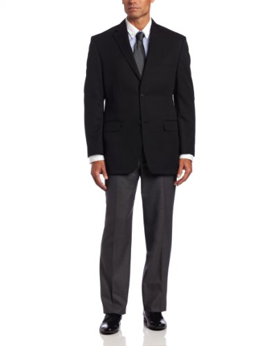 Haggar Men's Solid Two Button Center Vent Suit Separate Coat